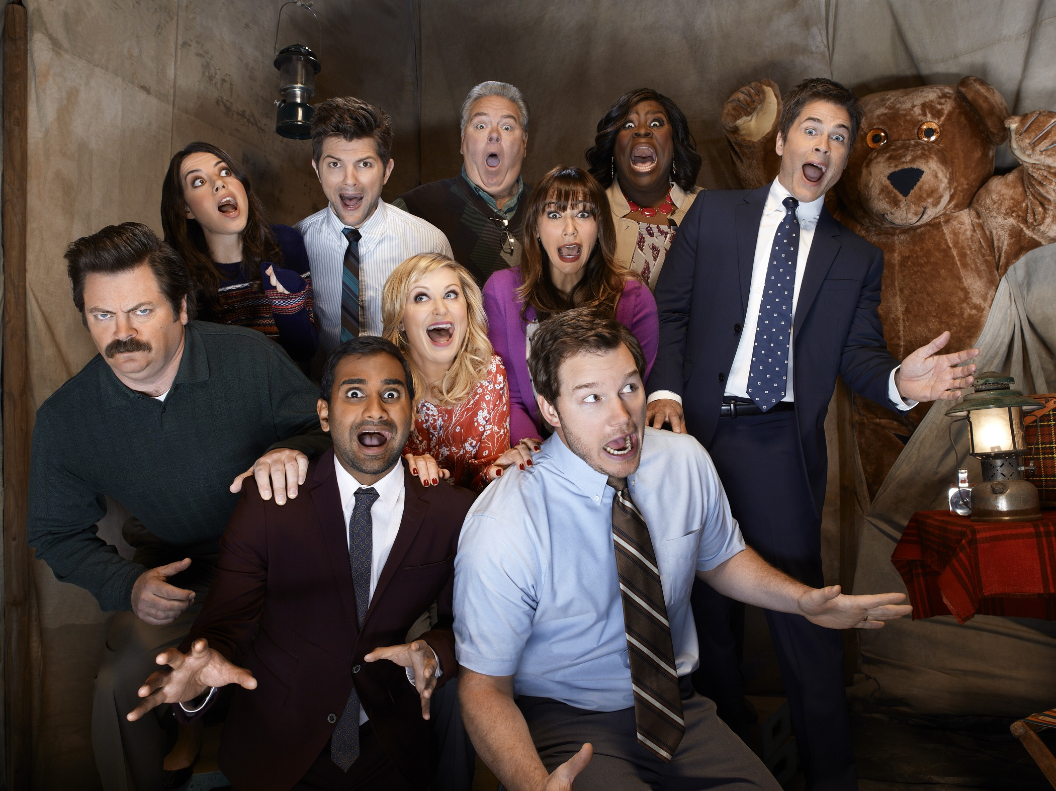 parks and rec timeline pic