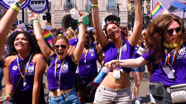 Diversity and Inclusion - Pride Day London