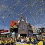 Despicable Me Minion Mayhem Grand Opening