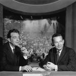 Chet Huntley and David Brinkley gain national acclaim for their election coverage and their subsequent Huntley-Brinkley Report on NBC